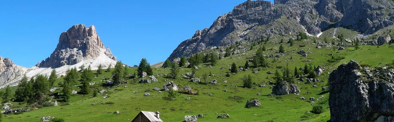 Südtirol Reiseziel Bergpanorama
